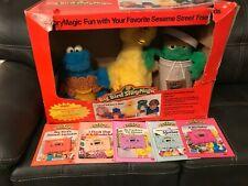 Big Bird Story Magic Deluxe Sesame Street Gift Set - See Video - Vintage 1987