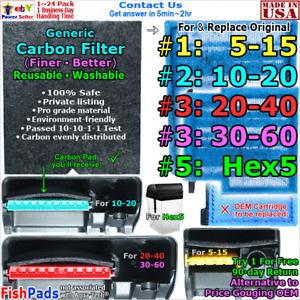 For Aquarium Filter Cartridge #1 5-15,#2 10-20,#3 20-40,30-60 #5 Hex5 Compatible