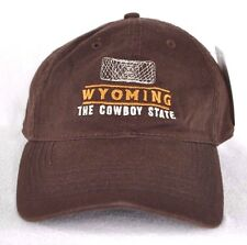 *WYOMING THE COWBOY STATE* Horse Rancher Ball cap hat *OURAY* embroidered