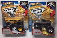 Hot Wheels Monster Jam Vintage Excaliber & Higher Education RARE & Hard To Find
