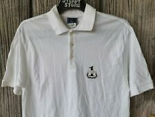 VINTAGE TRUSSARDI JEANS MADE ITALY BUTTON POLO SHIRT L