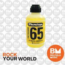 Jim Dunlop Fretboard 65 Ultimate Lemon Oil 118 mL Guitar Cleaner J6544 - BM