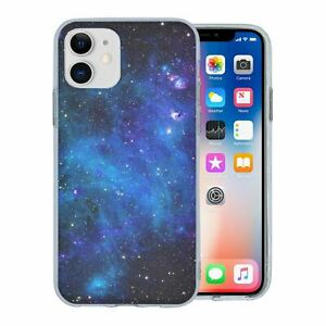 For Apple iPhone 11 Silicone Case Space Galaxy Stars - S4392