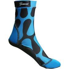 -Sample Product- Seavenger Tall SeaSnug Beach Socks Size 2XL (Blue Waves)