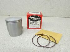YAMAHA AT2 AT3 DT125 IT125 MX125 WISECO PISTON KIT 2.00 OS 236P8 58.00 MM .080""