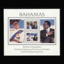 Bahamas, Sc #491a, MNH, 1981, S/S, Royal Wedding,  A5HAIcx
