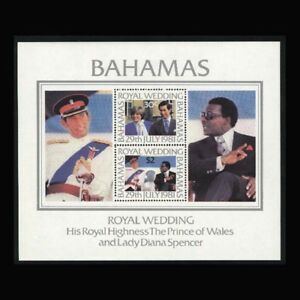 Bahamas, Sc #491a, MNH, 1981, S/S, Royal Wedding,  HAI-A