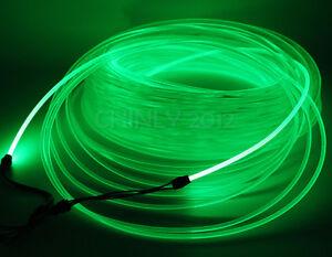 50m 6.0mm Side Glow Fiber Optic Cable for car or home Ceiling Lights LED wire