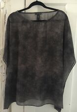 Eileen Fisher Silk Top New No Tags Size XL