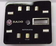 Antique Gents RADO Black Face Day/Date Dial Automatic.