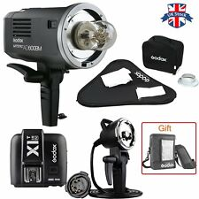 UK Godox AD600BM 600W HSS Bowens Flash Light+X1TN Trigger+Softbox Kit For Nikon