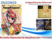 Power Rangers # 1 Peach Momoko LCSD Foil Variant Boom Studios Ships Nov 25