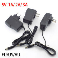 5V 1A 2A 3A AC/DC Power Supply Adapter Charger for LED Strip light CCTV camera