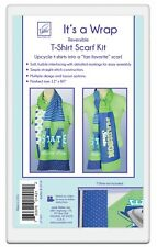 """Reversible T-Shirt Scarf Kit, from June Tailor, 12"""" x 80"""""""