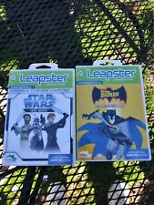 2 Leapster Games.  Star Wars.    Batman. Complete