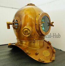 Diving Helmet Antique London Navy Mark V Deep Sea Marine Divers Scuba Sea Divers