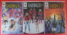 Harbinger #5-7 - lot of 3 - NM - KEY ISSUES