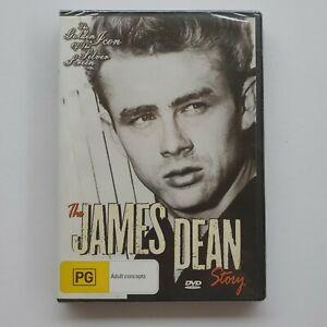 The James Dean Story (DVD Region 4) James Dean Documentary (Brand New / Sealed)