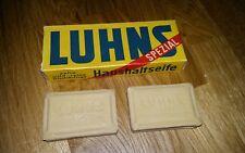 Luhns Spezial Seife antik Vintage 50er Jahre mit OVP unbenutzt