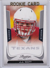 J.J. WATT 2011 Prestige HOUSTON TEXANS ROOKIE CARD Mint NFL Football JJ RC