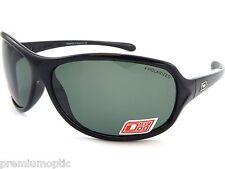 Dirty Dog Polarizadas para mujer keekee Gafas de sol color negro / Gris Verde