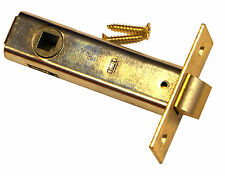 "PASSAGE LATCH BOLT backset 2 3/4"" ,BRASS finish for passage locks. 7/8"" Bore"