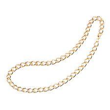 "24"" Gold Chunky Pimp Chain - Fancy Dress Fake Gangster 1970s Rapper"