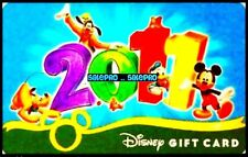 DISNEY 2011 US EXCLUSIVE LIMITED CELEBRATION OF DISNEYLAND COLLECTIBLE GIFT CARD