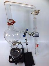 Essential Oil Steam Distillation Kit,Lab Apparatus  Allhin Condense ,Stove