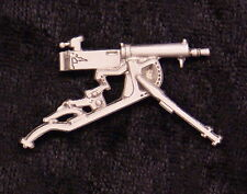 Empire Pewter Maxim Machine Gun Pewter  Pin