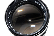 [Excellent Canon FD 300mm f/5.6 S.C Manual focus Lens From Japan #683775