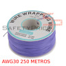 Bobine AWG30 Violet 250m Câble Fil Câble Soudure