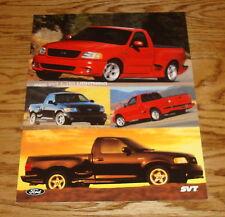 Original 2000 Ford Truck SVT F-150 Lightning Sales Sheet Brochure 00