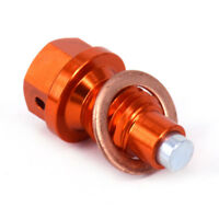 Engine Magnetic Oil Drain Plug Bolt For KTM SX SXF EXC EXCF XC XCW XCF 125-530