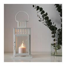 2 X IKEA BORRBY Lanterns for Block Candle Home/garden Black 28cm Tall