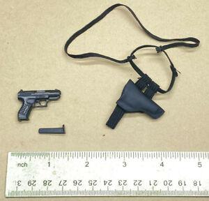 """1/6 Sideshow 12"""" figure James Bond 007 Spy movie Die another day gun holster set"""