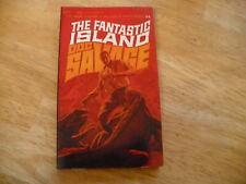 "DOC SAVAGE # 14 ""FANTASTIC ISLAND"" - 5TH PRTG 1967 - BANTAM PB -GLOSSY-VERY NICE"