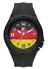 FILA CASUAL 38-072-005 Uhr Armbanduhr Sport Uhren Fußball Deutschland Fahne Fan