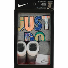 NIKE Baby Boy / Girl 3-pc Outfit / Gift Set 'Just Do It', size 6-12 months