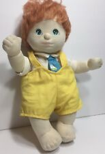My Child Doll Boy Red Hair Aqua Eyes Collin Original Clothes Diaper Mattel