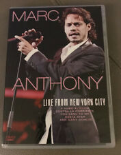 Latino Salsa Music Marc Anthony Live From New York City DVD (2007) Marc Anthony