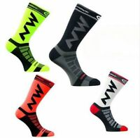 2x Women Men Riding Cycling Sports Socks Unseix Breathable Bicycle Footwear DS