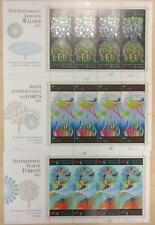 UN NY, GN, VN MNH 2011 International Year of Forests M/S Set Of Three