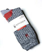 Spyder Heat Zone Boot Sock Men's Shoe Size 6-12 Cushioned Cold Weather Socks