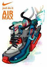 NIKE AIR MAX Poster [36 x 24] Brand Promo Advertising Print Wall Poster 1