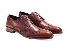 Hombres Zapatos Oxford. con detalles formales. 100% Cuero. hecho en Italia