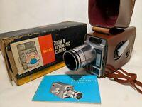 Vintage Kodak Zoom 8 Automatic Camera Movie 8MM. No. 145 W/ box manual case