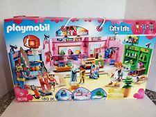 Playmobil City Life Shopping Plaza Building Set, #9078 **BRAND NEW**