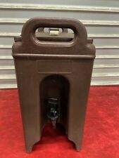 25 Gallon Cambro Insulated Hot Cold Drink Dispenser Beverage Nsf 250 Lcd 4880