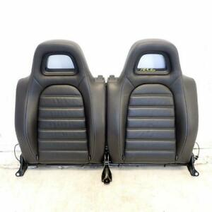 Rear Leather Seat Back (Ref.1226) VW Scirocco mk3 2.0 Tdi